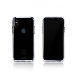 iPhone X - gennemsigtig siliconecover